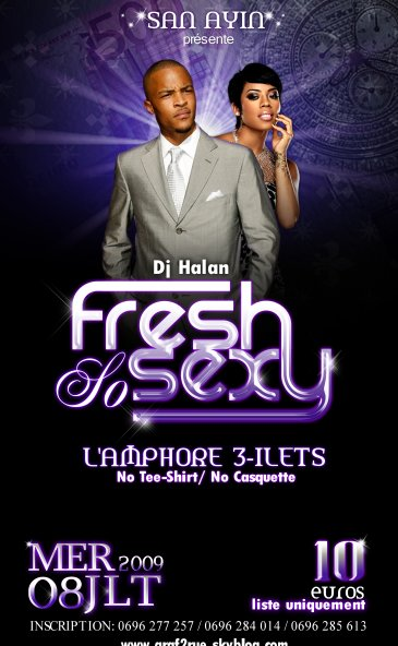 "Soiree ""Fresh & Sexy"" a l'Amphor"