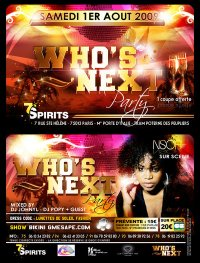 "Soirée ""Who's Next Party"""