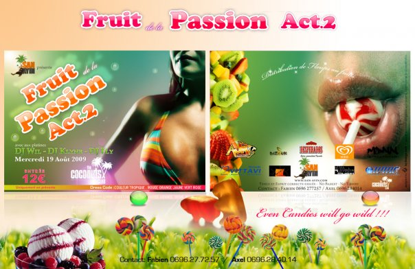 "La ""Swarée Fruit de la Passion"" (Acte 2)"