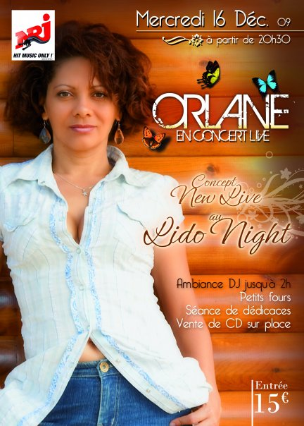 Orlane en Concert au Lido Night Club