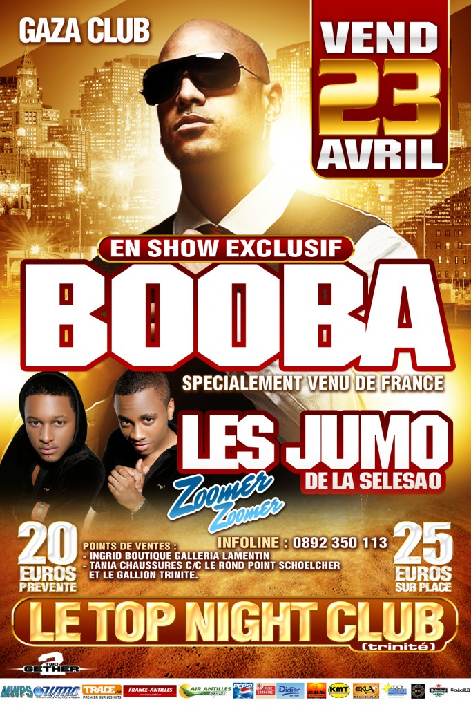 booba jumodelaselesao top night club - recto