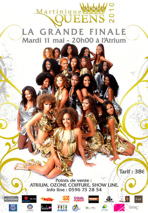 Grande Finale Martinique Queens à l'Atrium