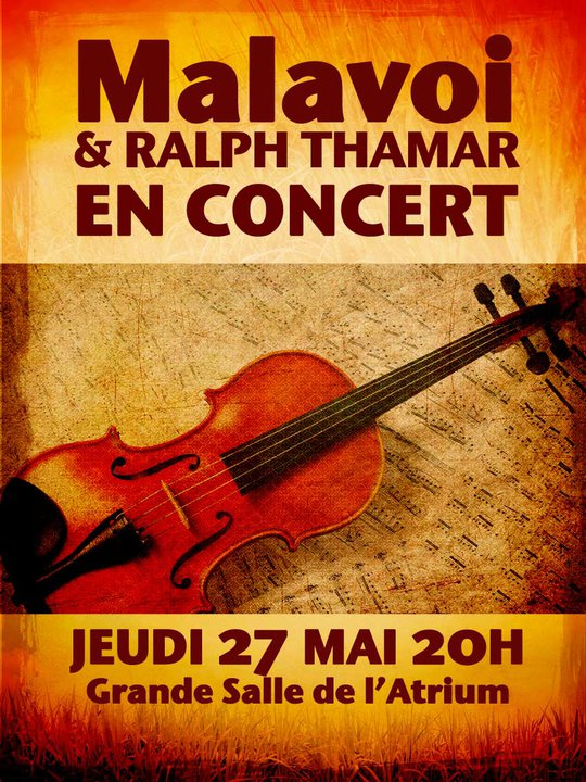 Malavoi et Ralph Thamar en concert
