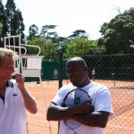 Roland Garros : Tournoi des personnalits avec Lord Kossity