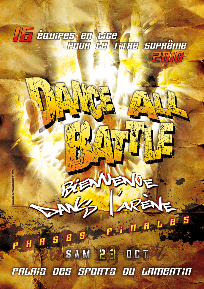 Dance All Battle le 23 octobre au hall des sports du Lamentin