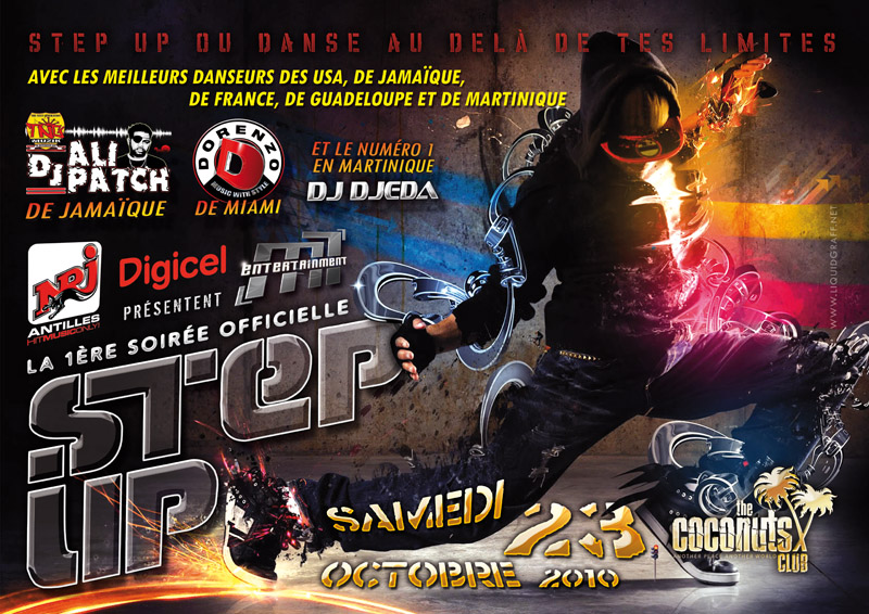 Soirée officiel step up au coconuts
