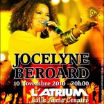 Jocelyne Broard en concert  l&#8217;Atrium : &#8220;Yen Ki Lanmou&#8221;