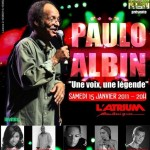 Concert &#8220;Une voix, une lgende&#8221; de Paulo Albin  l&#8217;Atrium